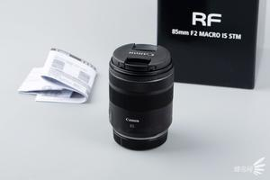 8级防抖+F2大光圈 佳能RF85mm F2 MACRO IS STM开箱